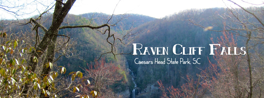 South Carolina Hiking in Caesars Head State Park with Raven Cliff Falls