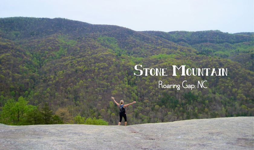 Hiking Stone Mountain, North Carolina