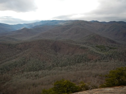 Looking Glass Rock views