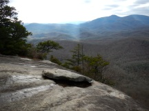 Looking Glass Rock peak